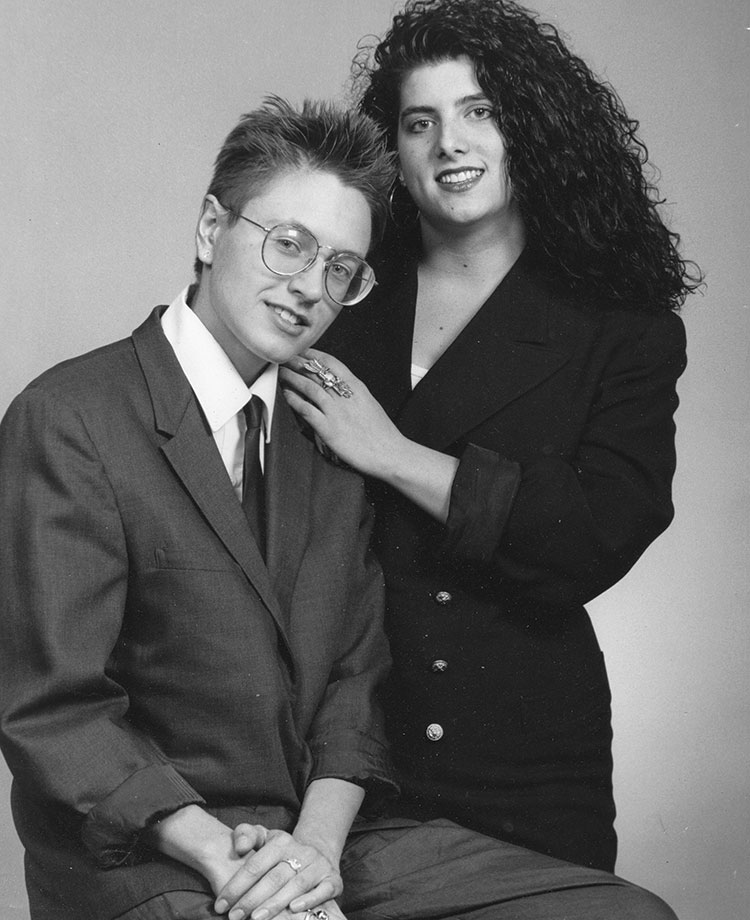 Our first engagement photo in 1992