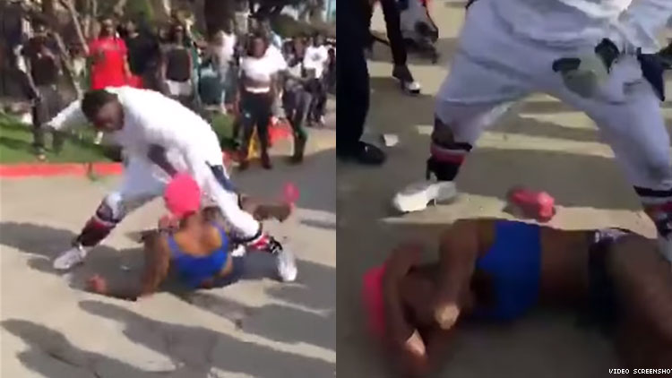 Dallas police beating video