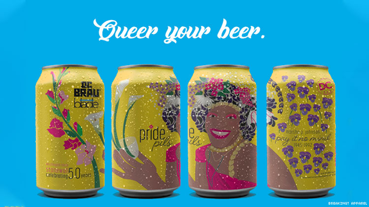 Marsha P. Johnson beer
