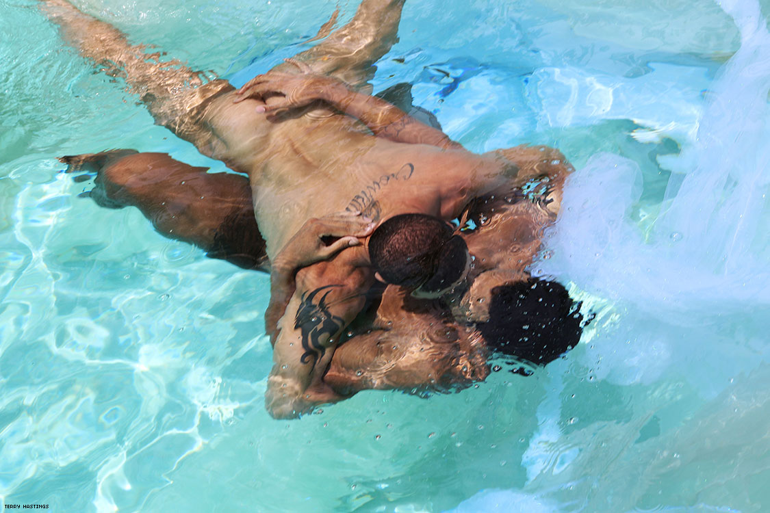 52 Photos of Pool Boys Mostly Skinny-Dipping by Terry Hastings