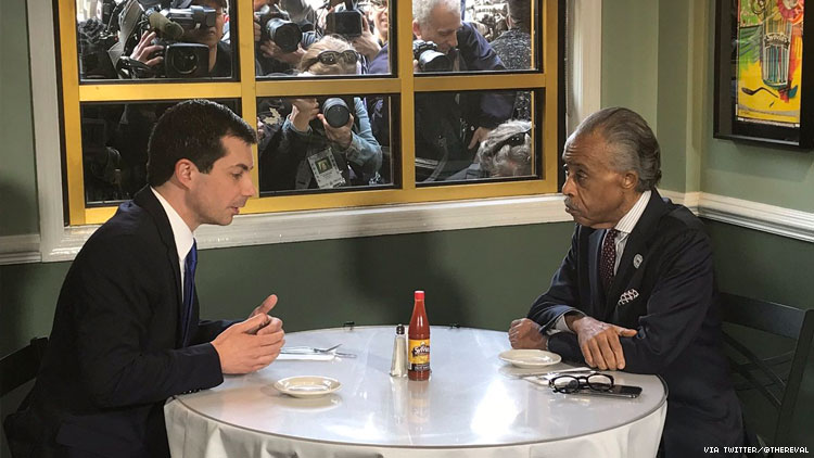 Pete Buttigieg Unveils Policies on Race Alongside Rev. Al Sharpton