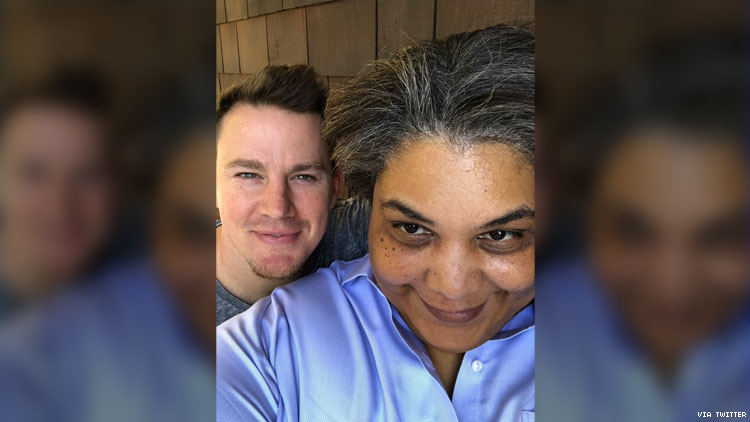 Roxane Gay Dishes On Her Secret Project With Channing Tatum