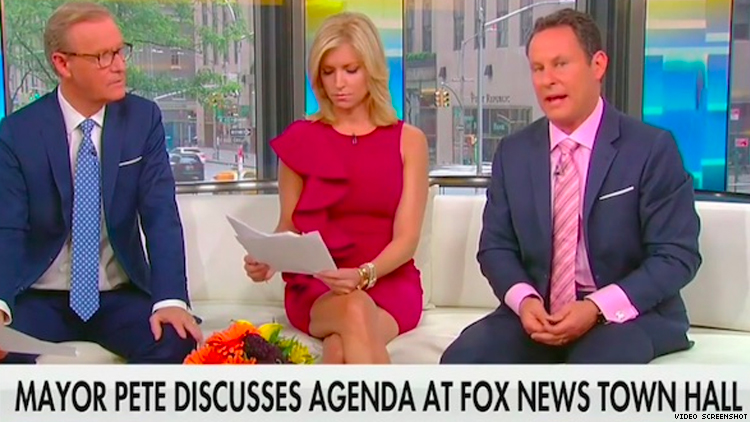 Fox News Hosts Divided Over Buttieg Town Hall