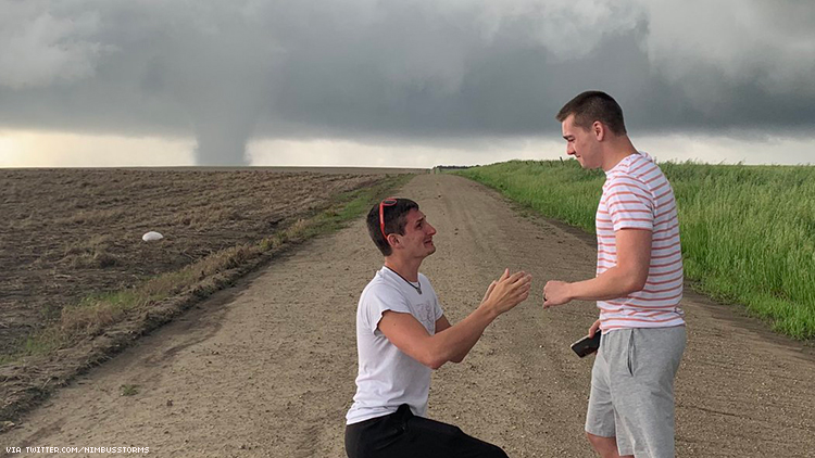Gay Storm Chaser