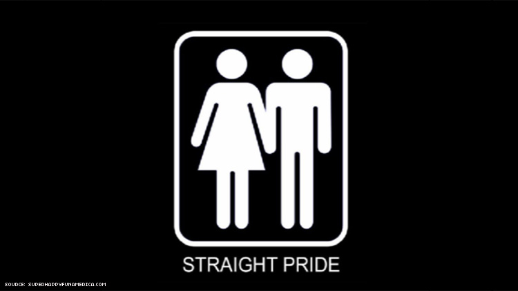 Image result for straight pride parade