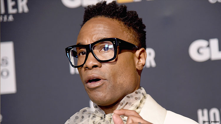 Billy Porter Tells Straight Actors How 'Enraging' Their Gay Casting Is