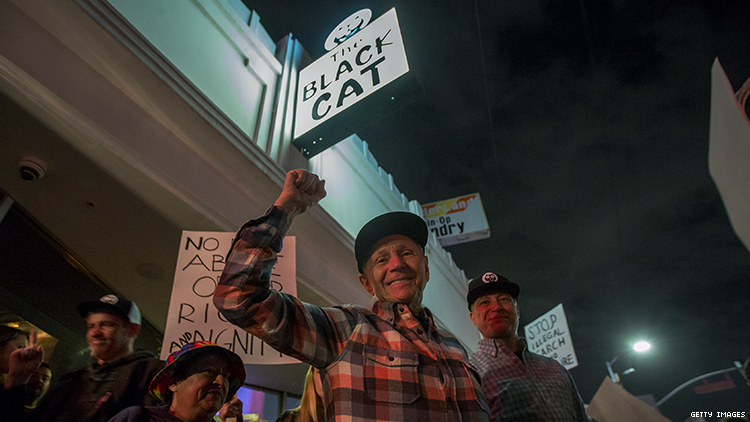 L.A. Pride Honored Stonewall, But Don't Forget, Black Cat Was First