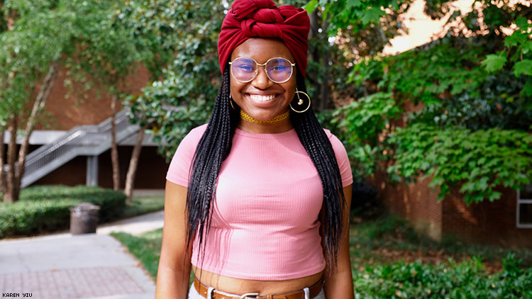 How One Bisexual Activist Uses Her Life to Show Pride at Her College