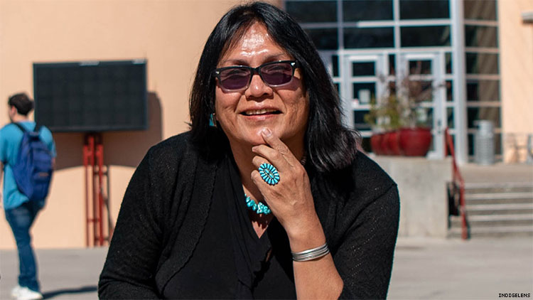 Meet the LGBTQ2S Woman Who Ran for President of Navajo Nation