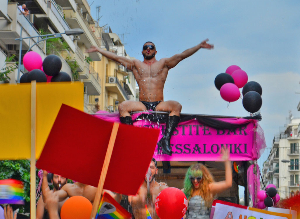 14 Photos Put You at the Heart of Thessaloniki Pride
