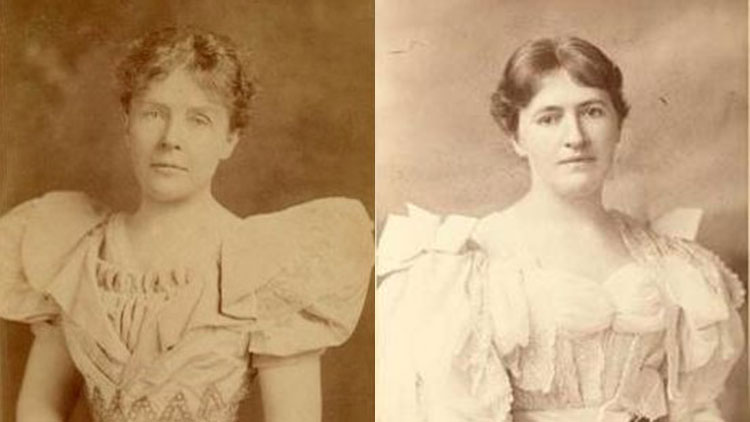 Rose Cleveland and Evangeline Simpson Whipple via Wikimedia Commons