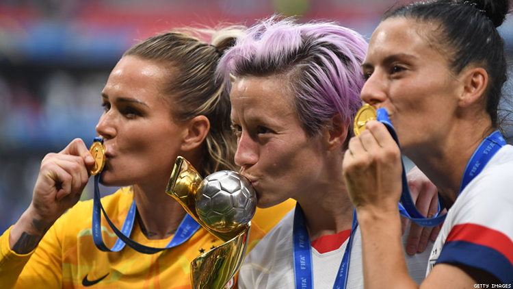 Megan Rapinoe Reiterates the World Cup Can't Be Won Without
