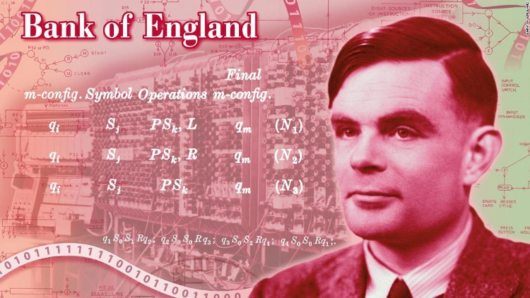 Gay WWII Codebreaker Alan Turing to Be Face of £50 Note