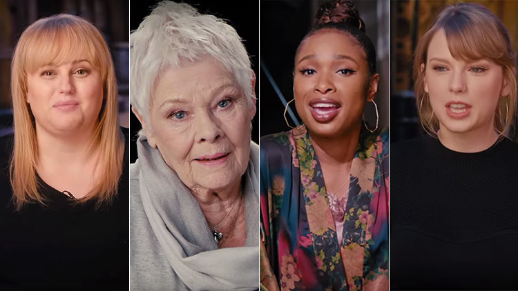 'Cats' Is Coming with Hudson, Swift, Dench, McKellan and Digital Fur!