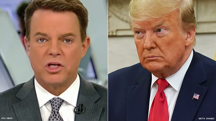 Trump Again Insults a Gay Journalist, This Time Fox's Shepard Smith