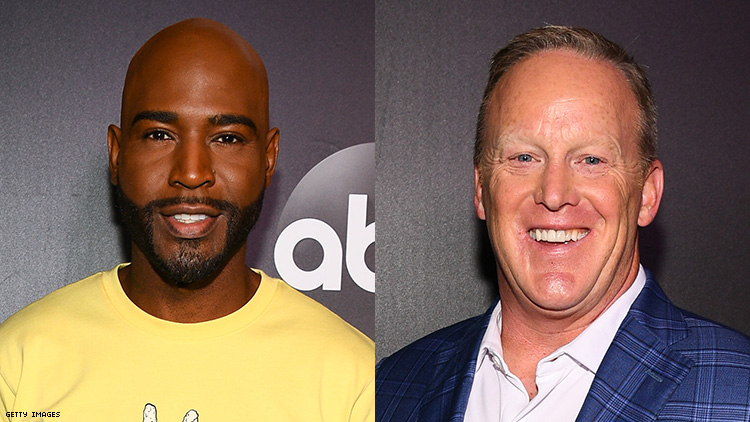 Karamo 'Excited' to Mambo With Sean Spicer on 'Dancing With the Stars'