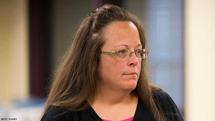 Antigay Crusader Kim Davis Wins One Court Battle, But Another Looms
