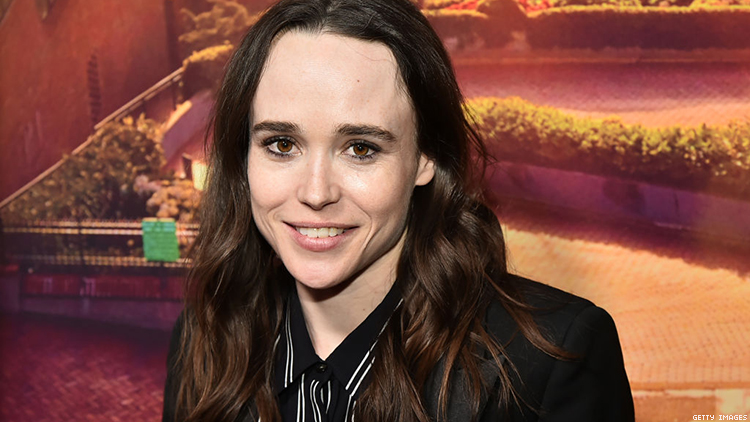 Ellen Page Would Be Thrilled to Play Queer for the Rest of Her Career