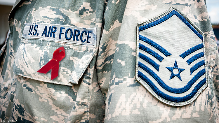 The Pentagon Tried to Discharge Me for Being HIV+. Today I Fight Back