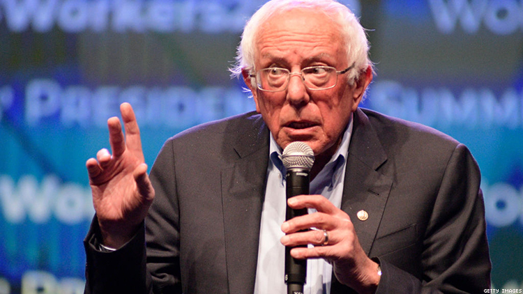 Bernie Sanders Is Only Major Candidate to Sit Out Both LGBTQ Events