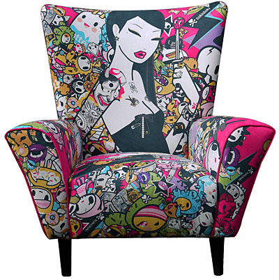 Tokidoki Limited Edition Chairx400 0