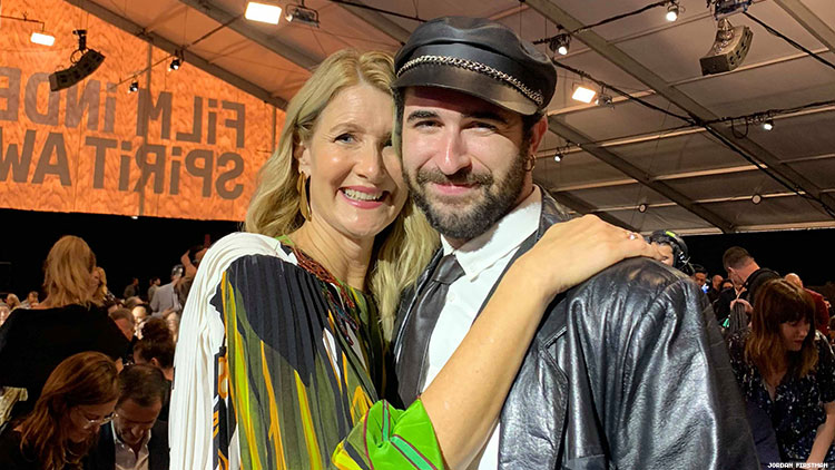 Laura Dern and Jordan Firstman