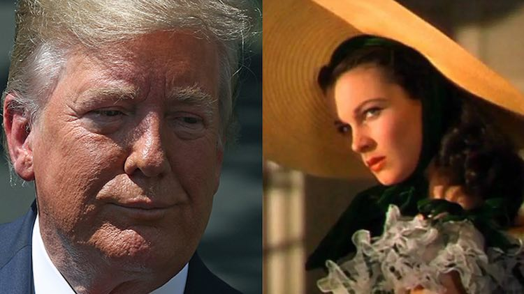 Trump Longs for Gone With the Wind While Bashing Parasite's Oscar Win
