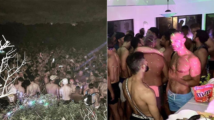Fire Island Parties, Packed With Gay Revelers, Spark Outrage and Worry