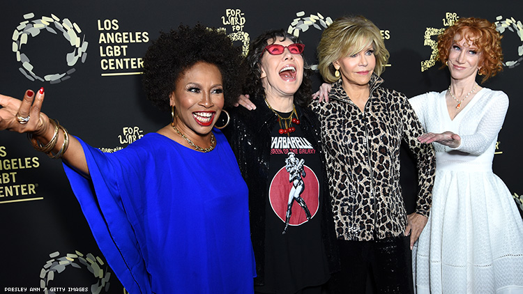 L.A. LGBT Center Celebrates 50 Years With Sia, Lily, Rufus, & More