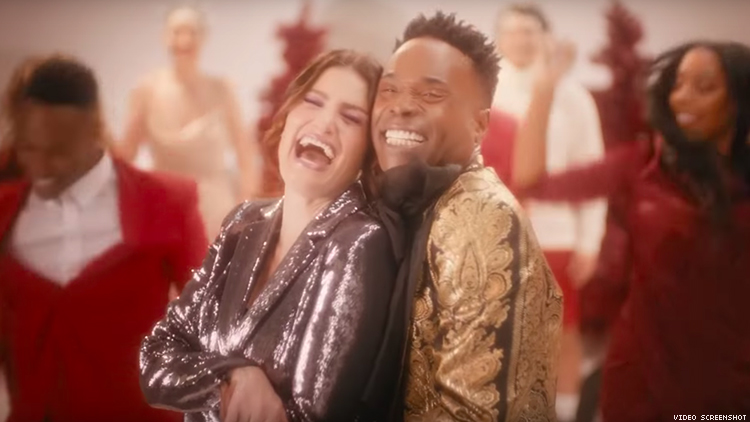 Billy Porter & Idina Menzel Deliver the Gayest Song of the Season