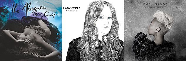 Anxiety, Ladyhawke/The Absence, Melody Gardot/Our Version of Events, Emile Sandé X633 | ADVOCATE.COM