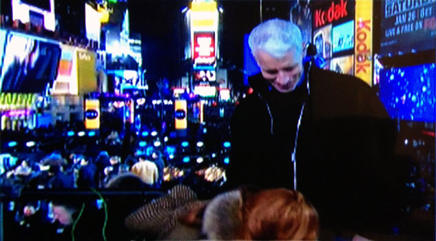 Anderson Cooper New Years Eve