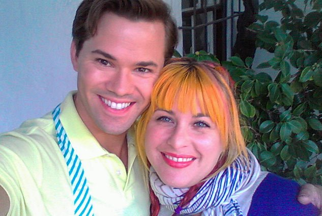 Andrew Rannells And Mary Klimekx633