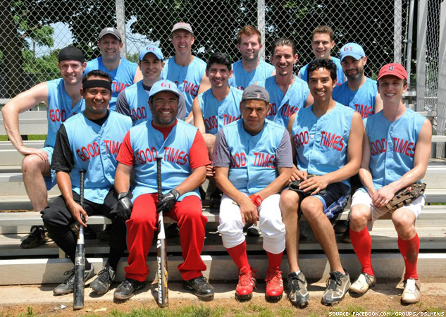 Boston Beantown Softball League X633