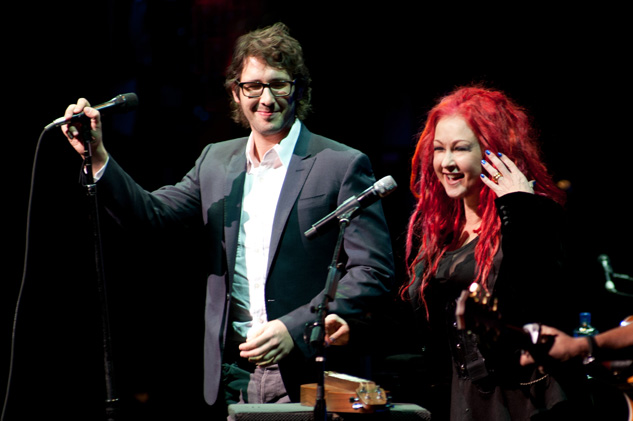 John Groban And Cyndi Lauper633