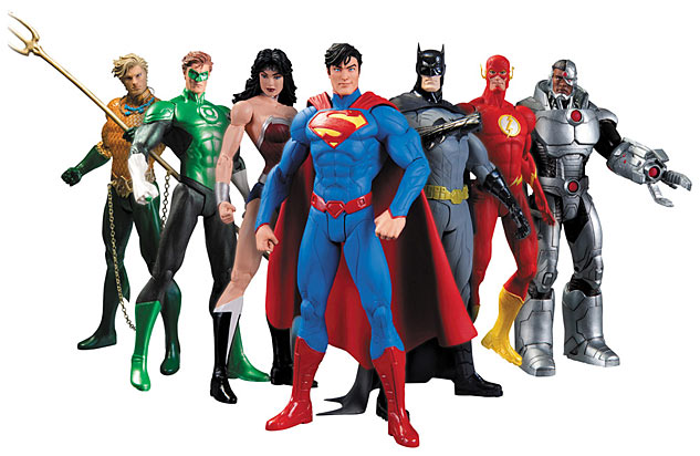 Justice League Action Figure Box Set From DCx633