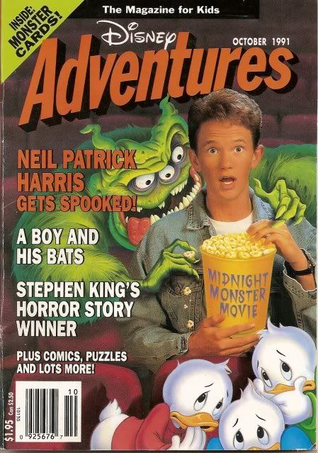 NPH DisneyAdventures Oct91