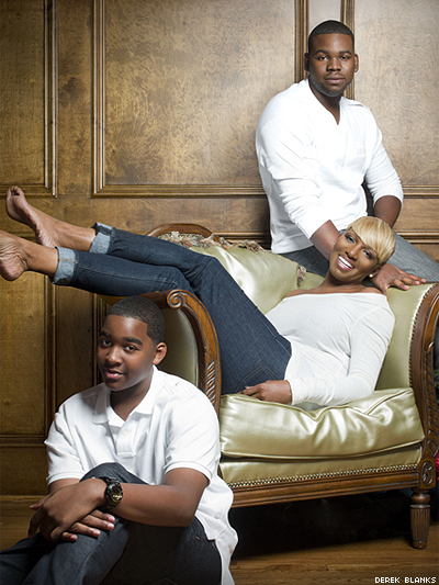 NeNe With Her Family Sons Bryson And Brenttxdeep