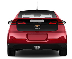 Picture Of 2013 Chevrolet Volt Behind View