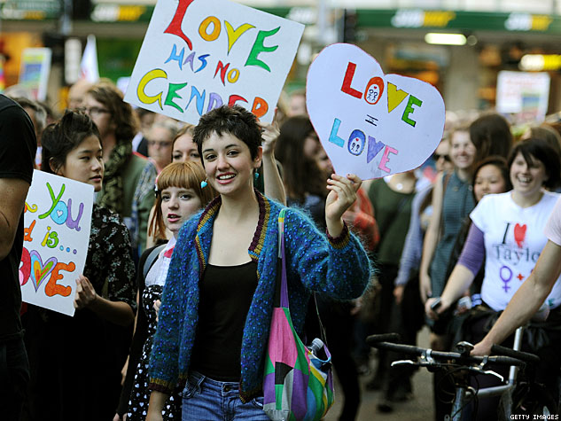 Sydney love has no gender x633 | Advocate.com