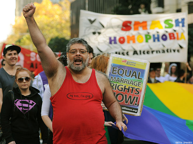 Marching in Sydney x633 | advocate.com