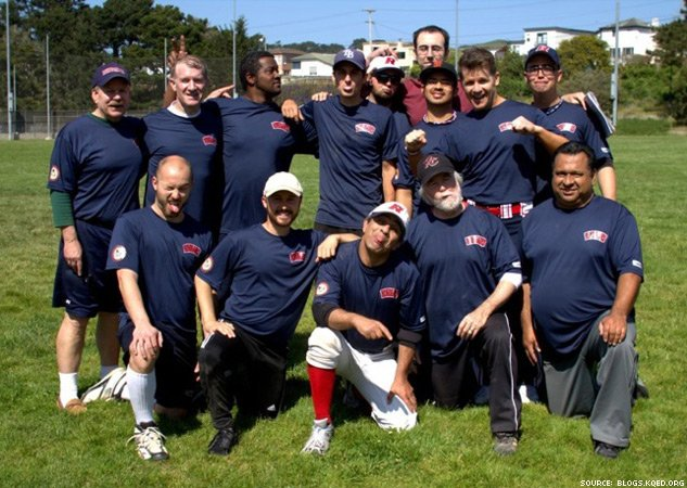 San Francisco Gay Softball League X633