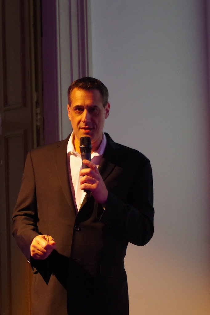 Stuart Milk Speaking About The Legacy Of His Uncle And The Work He Is Doing In Eastern Europe For LGBT Rights