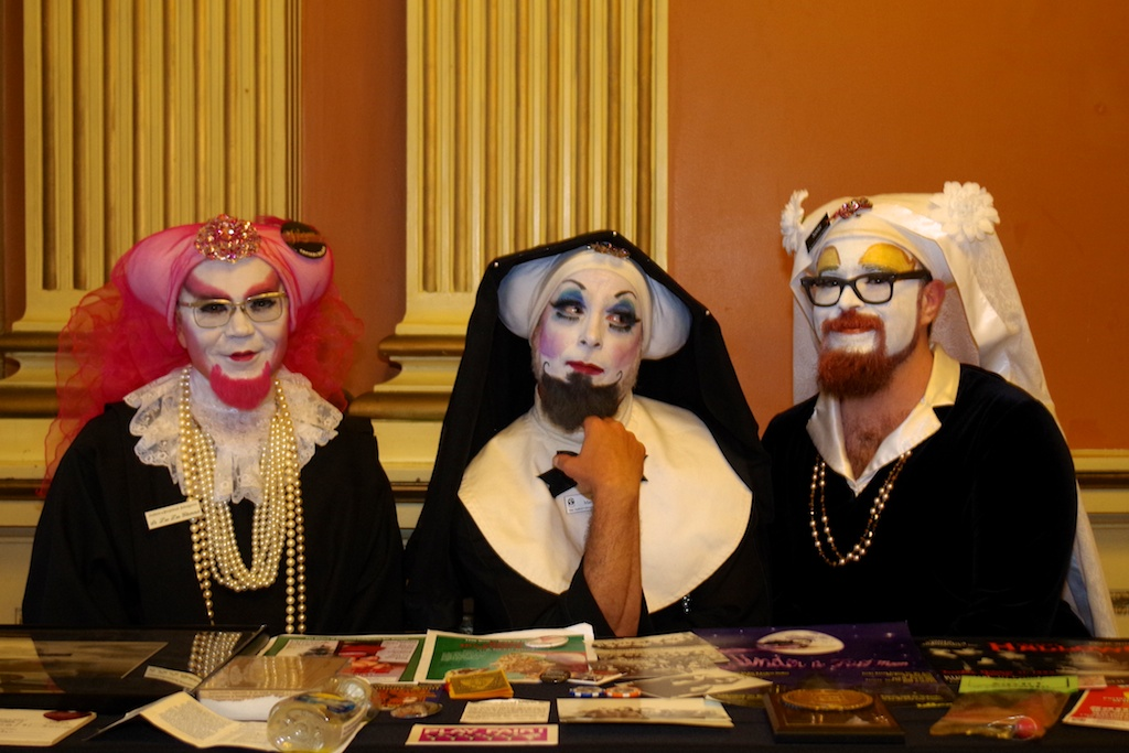 The Sisters Of Perpetual Indulgence Who Also Had An Archical Display