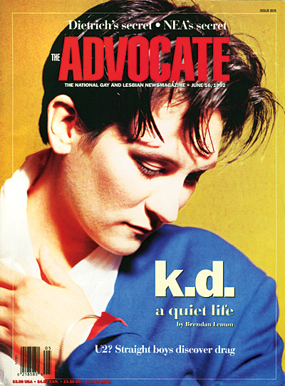 The Advocate KDLangx400