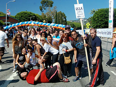 UCLA SEX SQUAD AT THE AIDS WALK X400 | ADVOCATE.COM