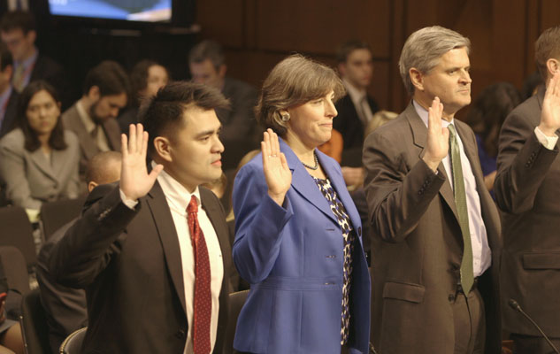 Vargas Testifies In Front Of The United States Senate Judiciary Committee X633