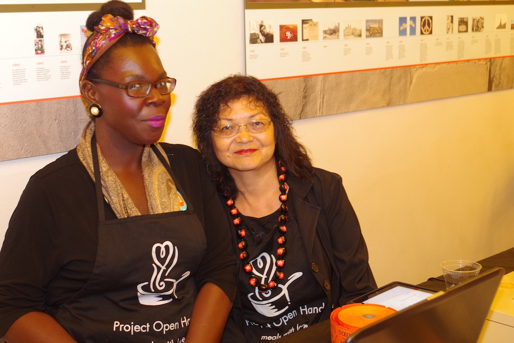 Volunteers For Project Open Hand, A Beneficiary Of The Night