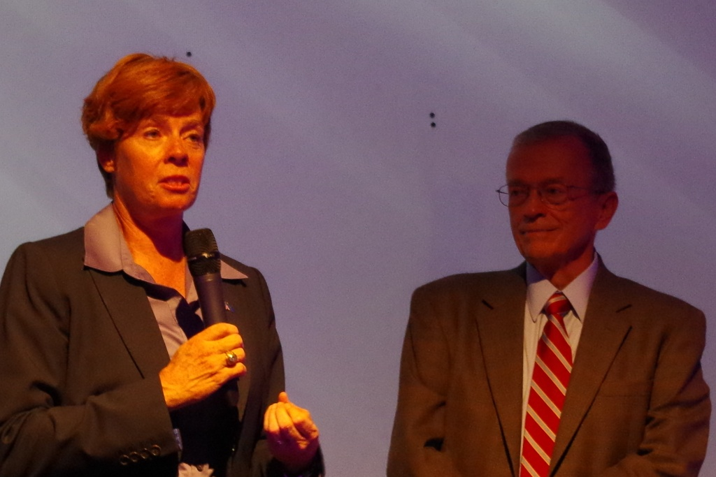 Zoe Dunning And Bob Dockendorff Speaking About DADT