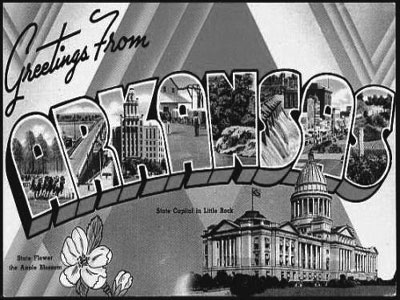 Arkansas Postcardx400